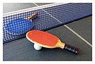 Теннис настольный в наборе: 2 ракетки и 3 мяча, фото 2