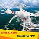 Квадрокоптер с видеотрансляцией SYMA-X8W, фото 3