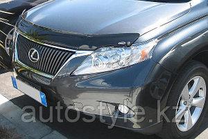 Защита фар Lexus RX350 2009-12 (очки прозрачные) Airplex