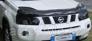 Защита фар Nissan X-tral 2008-10/11-13 (очки затемненные) AirPlex