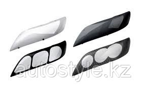 Защита фар Subaru Legacy / Outback 1998-01 (очки кант черный) AIRPLEX
