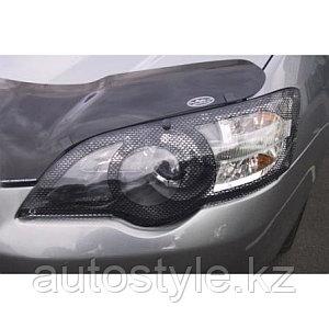 Защита фар Subaru Legacy / Outback 2004-06 (очки кант карбон) AIRPLEX