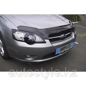 Защита фар Subaru Legacy / Outback 2004-06 (очки кант черный) AIRPLEX