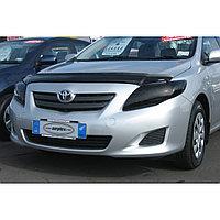 Защита фар Toyota Corolla 2007-09 (очки затемненные) AirPlex