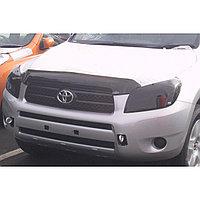 Защита фар Toyota RAV-4 2006-2008 (очки, затемненные) AIRPLEX