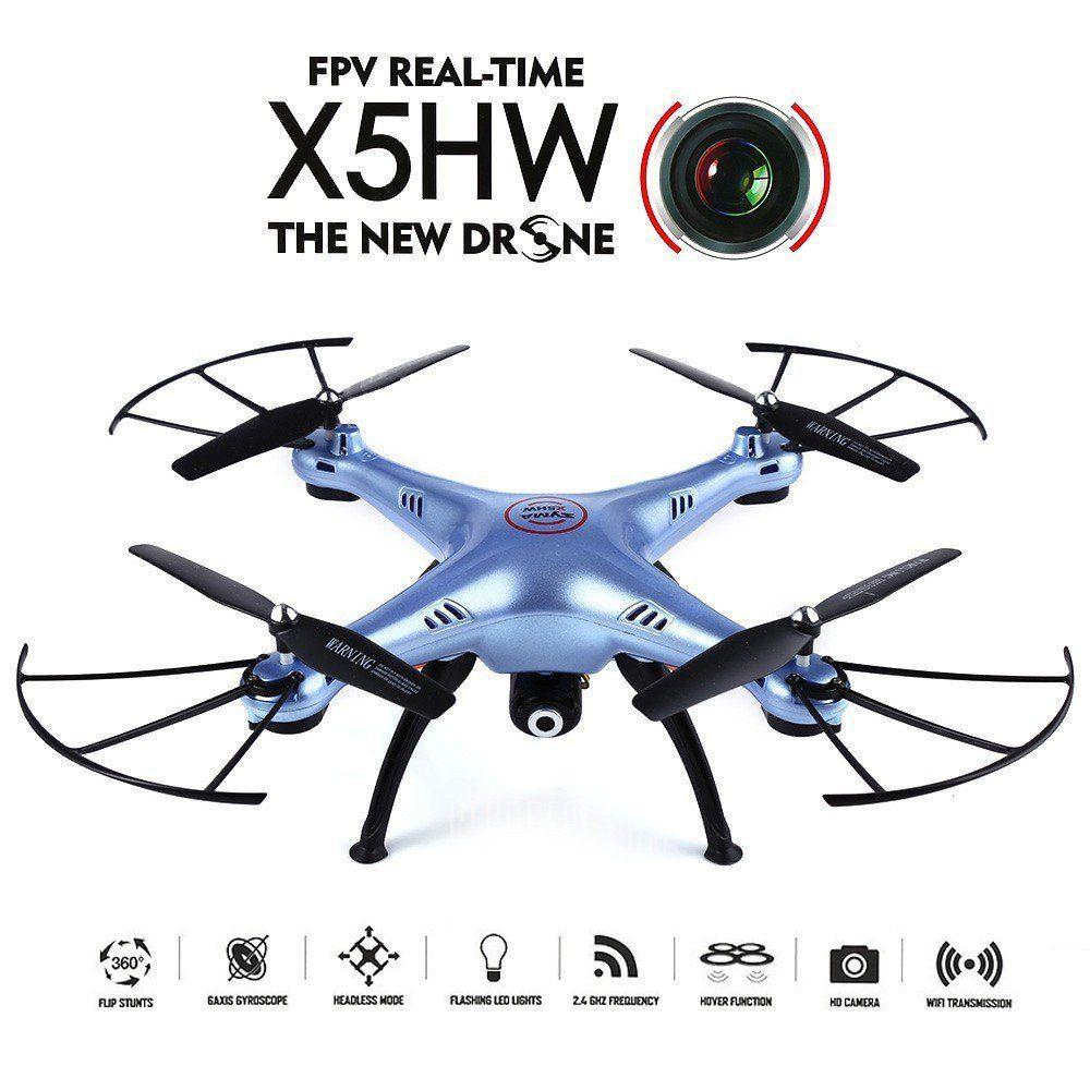 Квадрокоптер с видеокамерой и барометром  SYMA X5HC