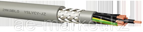 Кабель YSLY-CY-JZ  4x0,75 серый