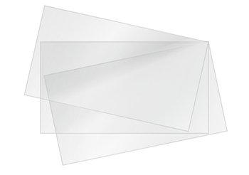 Листовой акрил матовый (молочный) и прозрачный