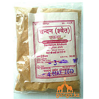 Сандал белый порошок (Santalum Alubum), 25 гр