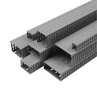 Перфорированный кабельный канал ОНКА, шаг перфорации 4/6 мм, длина 2м, размер 80х60 в упаковке 24 м.