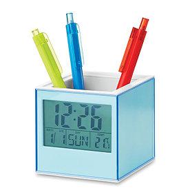 Подставка для ручек с часами