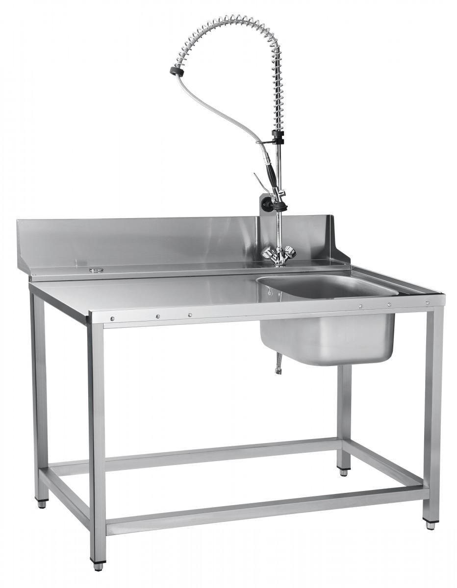 Стол предмоечный СПМП-7-4 для туннельных посудомоечных машин МПТ-1700 и МПТ-1700-01