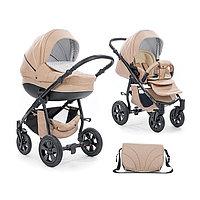 Детская коляска 3 в 1 Tutis Mimi бежевая