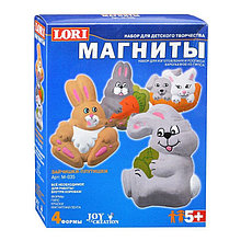 Фигурки на магнитах Зайчишки-плутишки