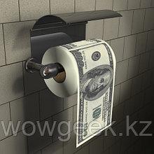 Туалетная бумага доллар