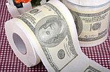 Туалетная бумага доллар, фото 2