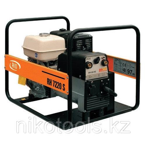 Промышленный сварочный бензиновый генератор RID RH 7220 SE