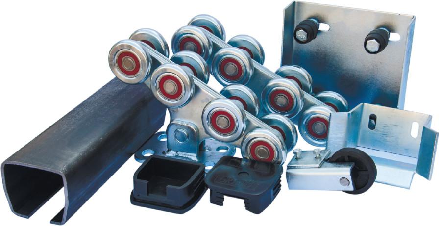 Комплект консольного механизма  для откатных ворот массой до 400 кг., ширина проема до 4 м. (Украина)