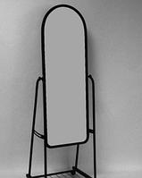 Зеркало Напольное широкое черного цвета