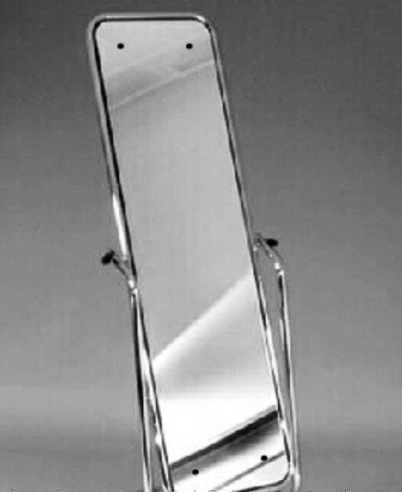 Каркас хромированный для зеркала на колесиках