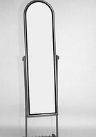 Зеркало Напольное узкое белого цвета