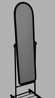 Зеркало Напольное узкое черного цвета