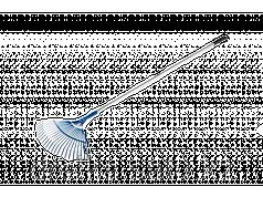 Грабли веерные ЗУБР 39587, ЭКСПЕРТ, 22 плоских зубца, алюминиевый черенок, 440 х 250 х 1630 мм