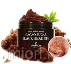 Какао пиллинг-скраб от черных точек / The Skin House Cacao Sugar Black Head Off 50g.