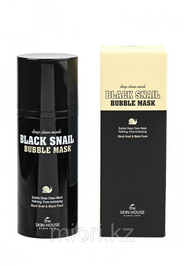 Кислородная маска с черной улиткой / The Skin House Black Snail Bubble Mask 100ml.