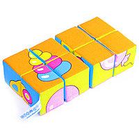 """Набор мягких кубиков """"Собери картинку. Предметы"""", фото 1"""