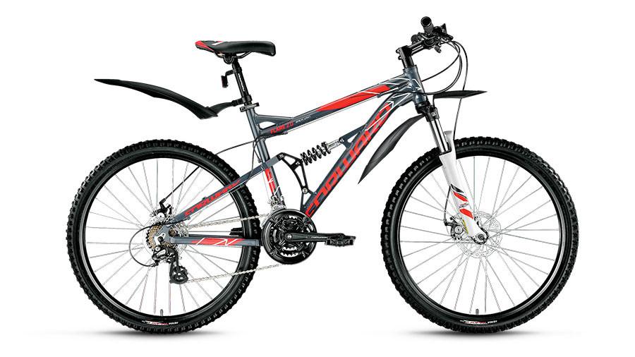 Велосипед горный двухподвес Forward Flare 2.0 disc