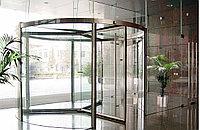 Автоматические карусельные двери