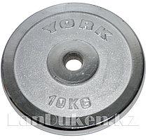 Блин для штанги 10 кг (для тренировочного грифа)