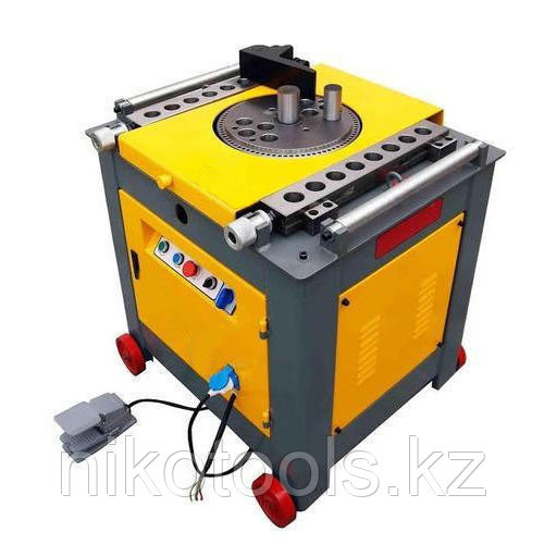 Станок для гибки арматуры STALKER до 50 мм GW50C-4 (автом. контроль изгиба)