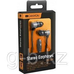 Проводные наушники с микрофоном Canyon CNE-CEP1S