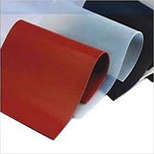 Резина силиконовая. силиконовые термостойкие пластины