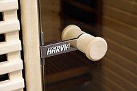 Ручка для стеклянных дверей парилки Harvia, круглая эконом