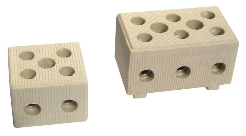 Клемма керамическая ONKA-5091 №3 / 1 полюс / 6-10 мм2