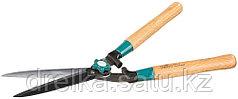Кусторез RACO с дубовыми ручками и прямыми лезвиями, 550 мм