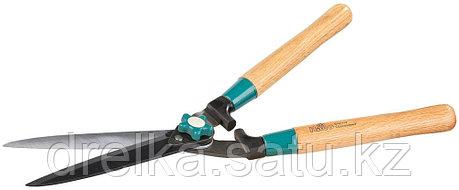 Кусторез RACO с дубовыми ручками и прямыми лезвиями, 550 мм, фото 2