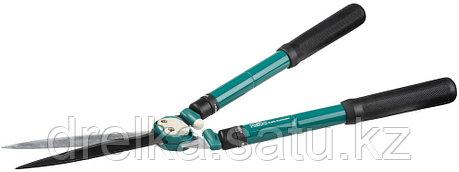 Кусторез RACO с телескопическими ручками и волнообразными лезвиями, 630-840 мм, фото 2