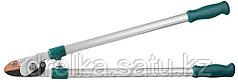 Сучкорез RACO с алюминиевыми ручками, 2-рычажный, с упорной пластиной, рез до 36 мм, 750 мм