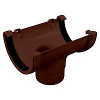 Воронка желоба, коричневый, Holzplast, фото 1