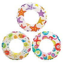 Intex Надувной круг Lively Print Swim Rings