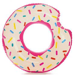 """Intex Надувной круг """"Пончик"""", 106 х 99 см"""