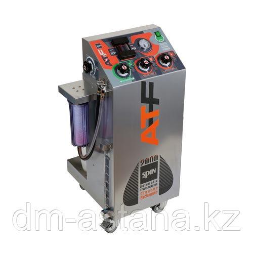 Установка для промывки и экспресс-замены жидкости в АКПП, ручное управление. Spin (Италия)