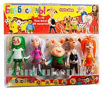 Игровой набор детских игрушек фигурок Барбоскины