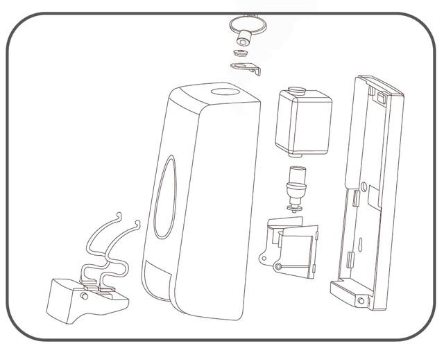 дозатор мыла-пены