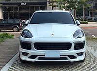 Обвес Techart на Porsche Cayenne 958 MKII