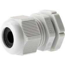 Кабельный зажим (полиамид) М20х1,5 IP68 для каб. D 6-12 мм, монтажный диаметр 20.